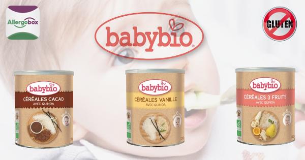 cereales bebe sans gluten