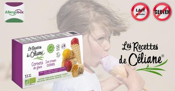 Cornets de glace sans gluten et sans lait pr par s par - Les saints de glace c est quand ...