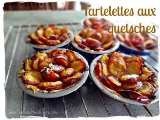 Tartelettes aux quetsches