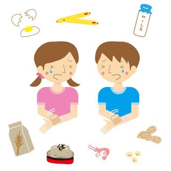 symptome allergie alimentaire